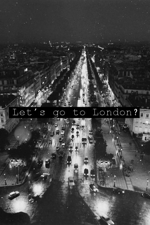 Let's go to #London!