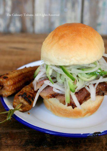 Roast Beef And Horseradish Coleslaw Sandwiches Recipe — Dishmaps
