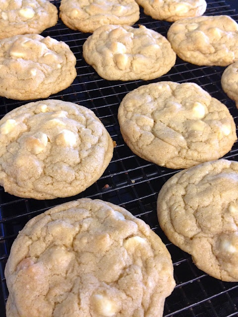 White Chocolate Macadamia Nut Cookies, except do a pudding cookie and ...