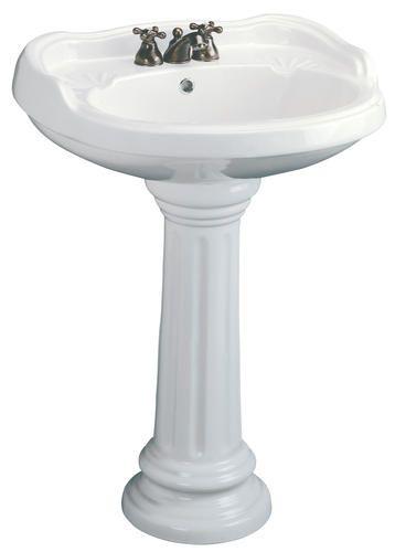 Mansfield Sinks Pedestal : Mancesa by Mansfield Mazara Pedestal Lavatory - 4