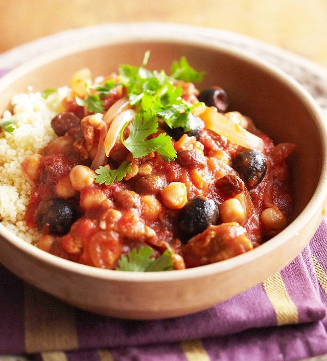 Moroccan Chicken Stew Recipe