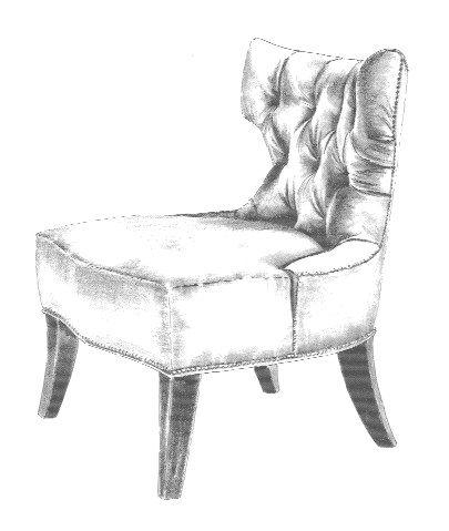 Chair Sketch Graphite Pinterest