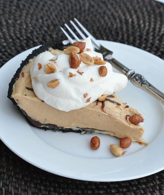 Creamy Peanut Butter Pie | Indulge | Pinterest
