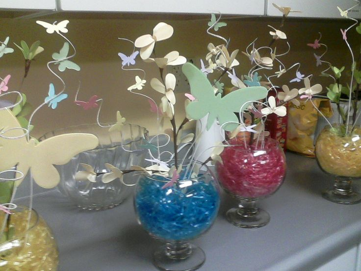 Table decorations for spring banquet photograph centerpiec