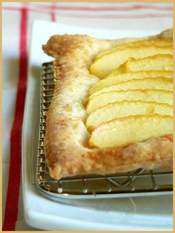 Free form Apple Tart | Food | Pinterest