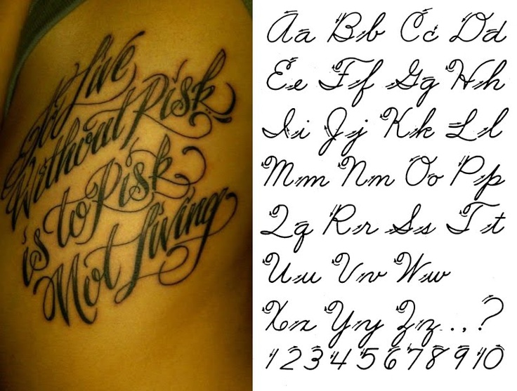 Fancy Cursive Letter Tattoos J D N 39 Tattoo Shadow