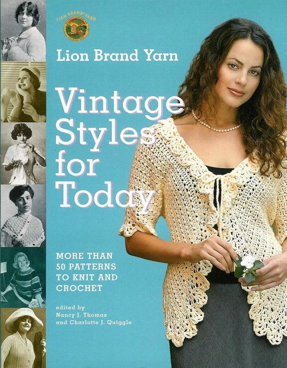 Knit And Crochet Today : Crochet and knit Vintage style for today English by Craftebook, $8.00