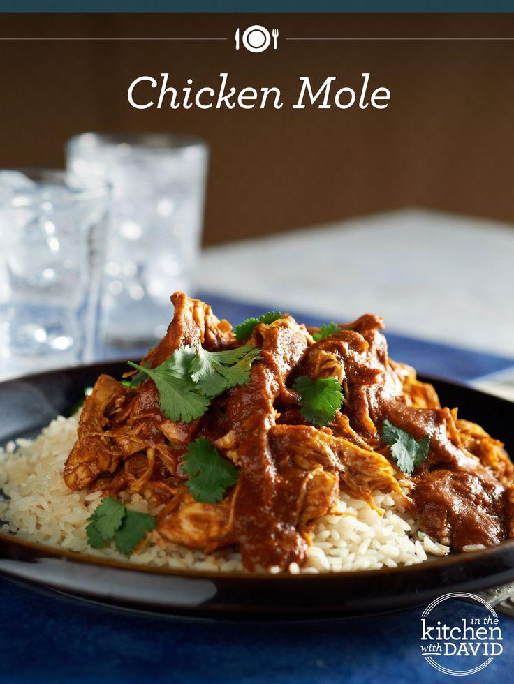 ... chicken breasts in ginger mole mole de jengibre con pechugas de pollo