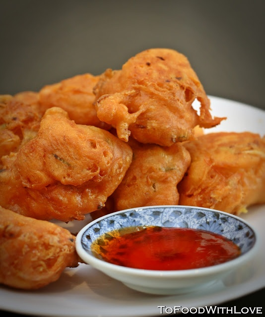 Cucur Udang (Prawn Fritters) | delicious dish...talk amongst yourselv ...