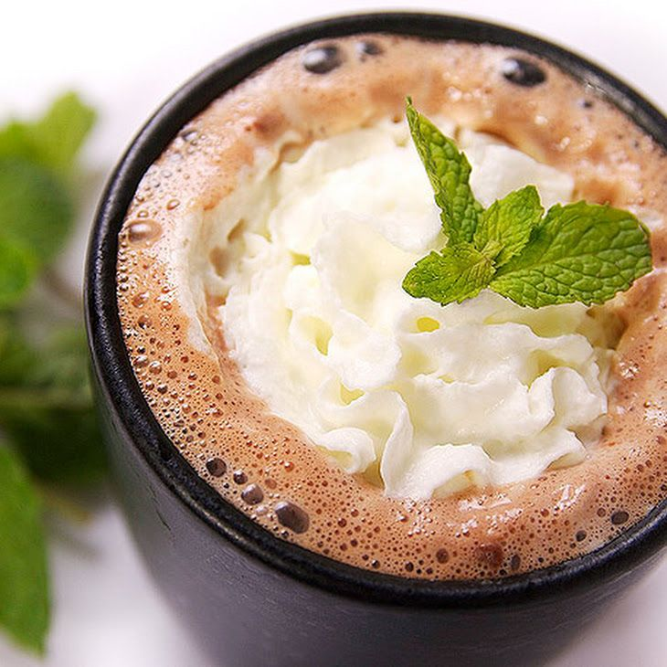 Tequila Mint Hot Chocolate Recipe | Hot Chocolate Love | Pinterest