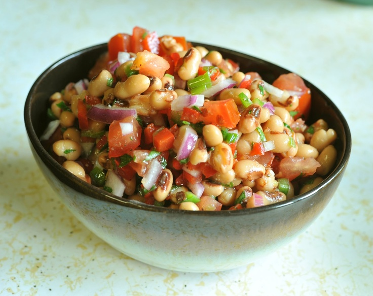 Black-Eyed Pea Salad | Summer Salads | Pinterest