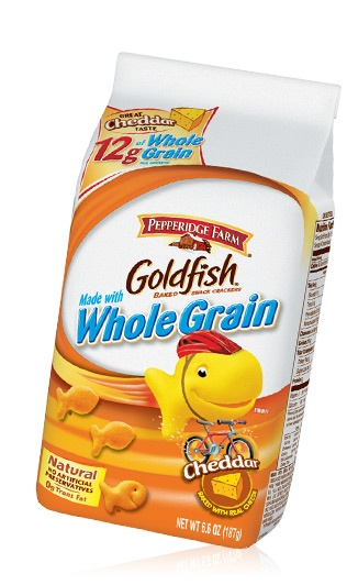 Whole Grain Goldfish crackers....can also be party favor-lots of ...