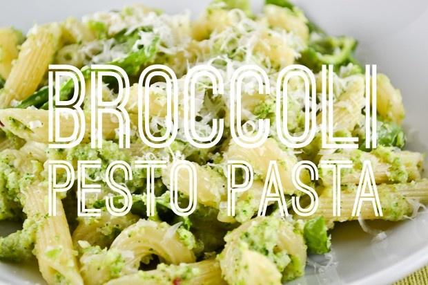Broccoli Pesto Pasta | Looks Yummy | Pinterest