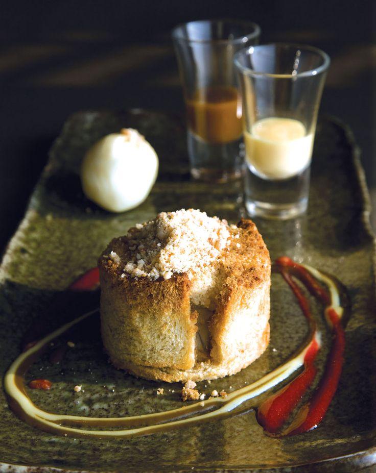 Thai Tea Cake With Condensed Milk Custard Sauce Recipe — Dishmaps