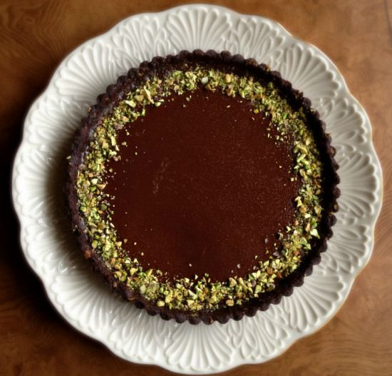 Milk Chocolate Pistachio Tart | KSC | Pinterest