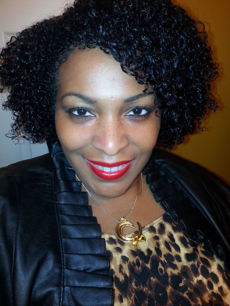 weave cap hairstyles : wash and go natural hair Natural hair 3c -4a curly Pinterest