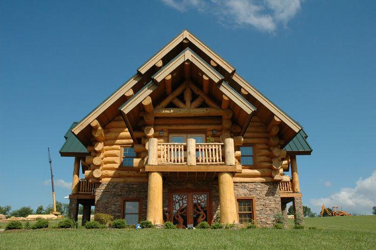 cool log cabin bens stuff pinterest
