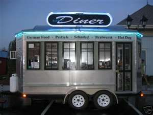 Diner Style Concession Trailer