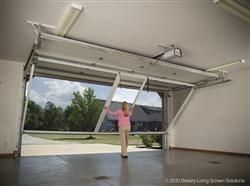 Garage screen door mn overhead door for the home for Roll up screen door for garage