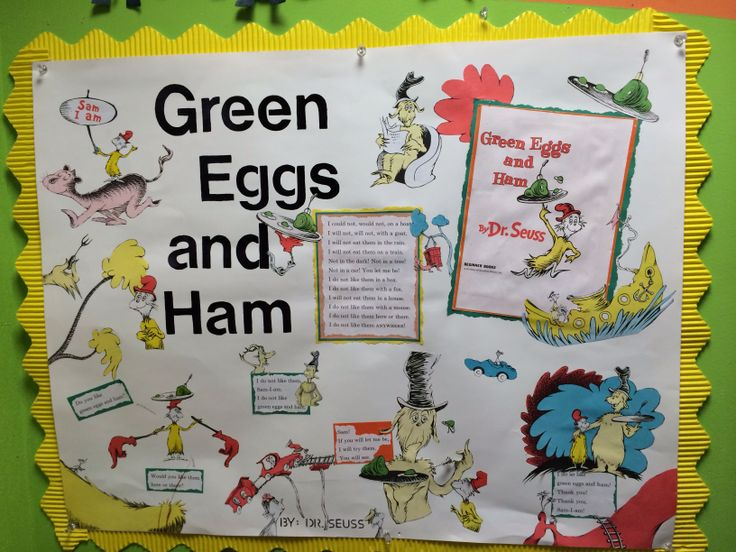 Green Eggs And Ham >> Green eggs and ham display   My Library   Pinterest