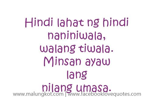 Love Quotes For Him Patama : Tagalog Quotes Mga Patama Love Quotes Patama Quotes Pinterest