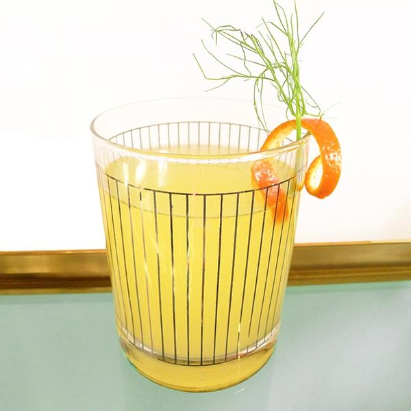 Fennel Orange Sparkler: Fennel Simple Syrup, Orange Juice, Vodka, Soda ...