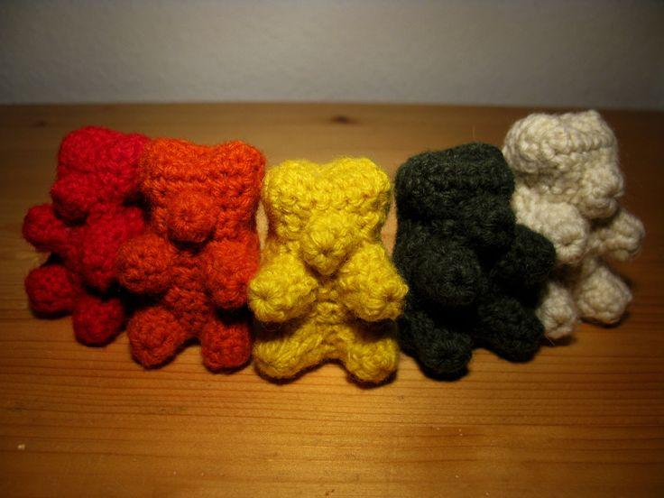Amigurumi Gummy Bear : Crochet gummy bear pattern Things That Inspire Us ...