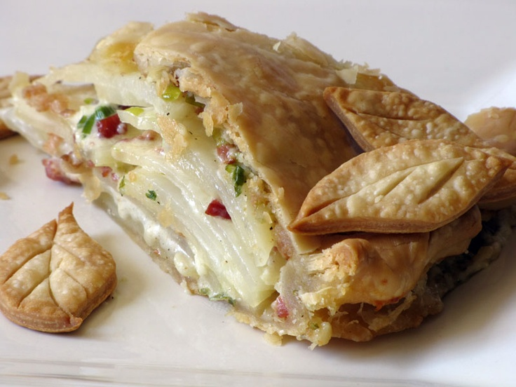 Scalloped Potato Pot Pie | Recipe