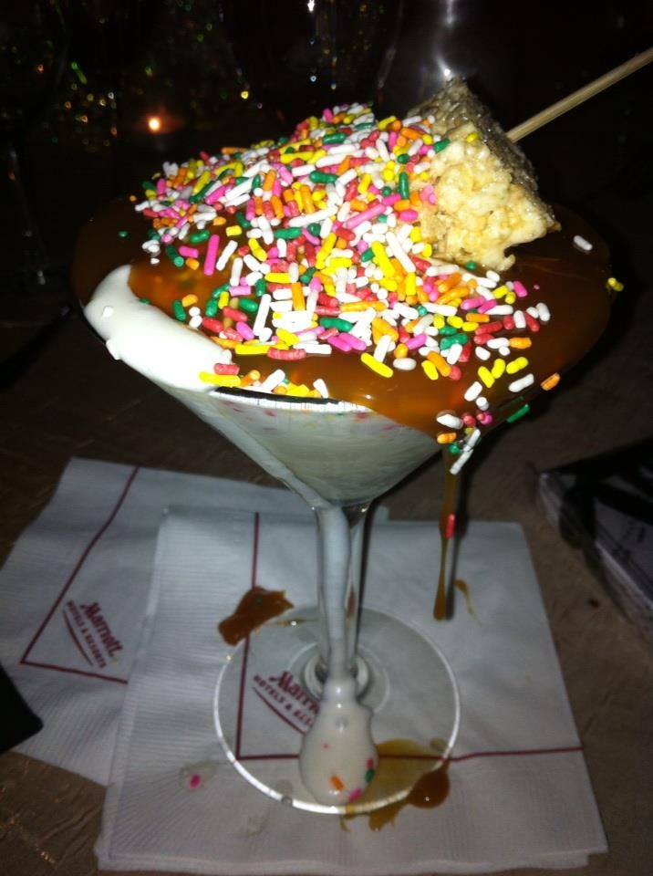 ice cream sundae ice cream sundae 4 layer chocolate cake popcorn ice ...