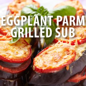 ... Chew: Mario Batali's Grilled Eggplant Parmesan Sub Sandwich Recipe