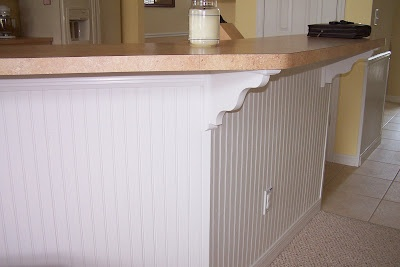 island wainscoting for current kitchen garden avenue