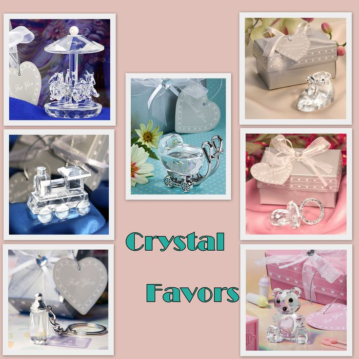 Crystal Baby Shower Favors from hotref.com