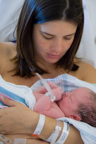 What to expect in the first week of nursing your newborn.