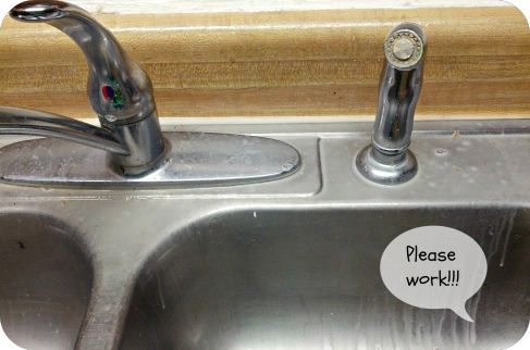 Cleaning Hard Water Stains From a Sink