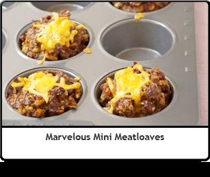 Marvelous Mini Meatloaves | FOOOOOOOOOOD! | Pinterest