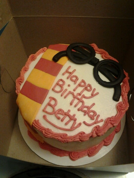 Birthday Cake Ideas Harry Potter : Harry potter birthday cake Birthday ideas Pinterest
