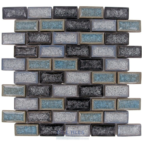 Cracked Glass Subway Tile For The Home Pinterest