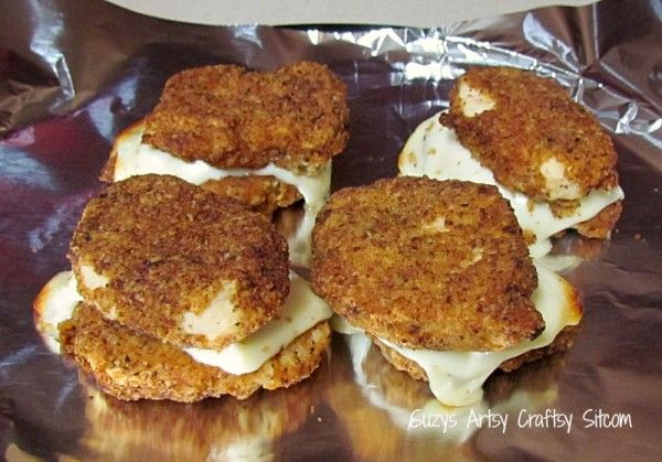 Michael Angelos Parmesan Crusted Stuffed Chicken Breasts | (Around the ...
