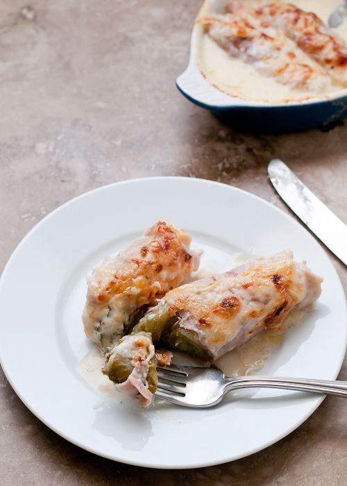 Belgian Endive Ham Au Gratin | Recipe