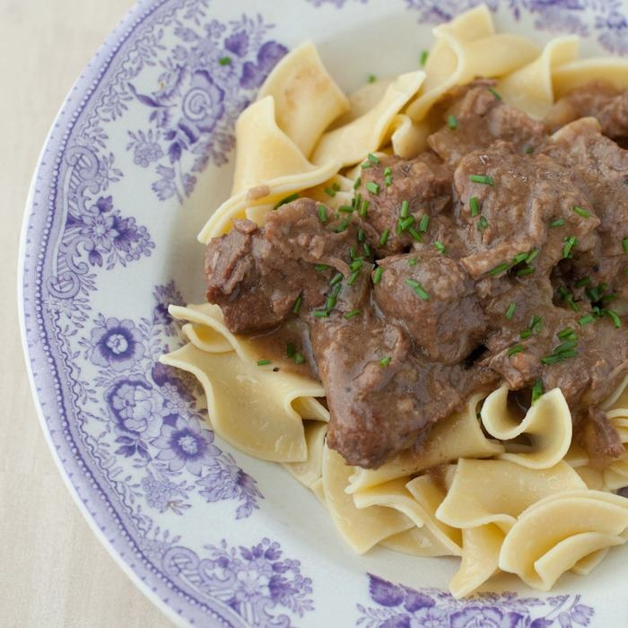 Beef Stew with Buttered Noodles | Dinner/Casseroles/Crockpot | Pinter ...