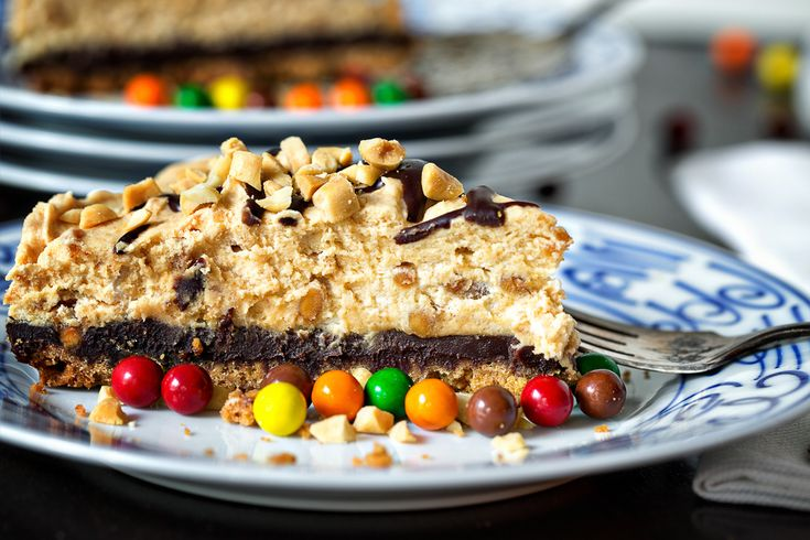 Black Bottom Peanut Butter Mousse Pie | Favorite Recipes | Pinterest
