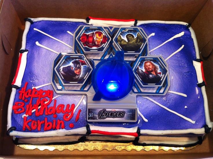 Avengers cake  Avengers  Pinterest