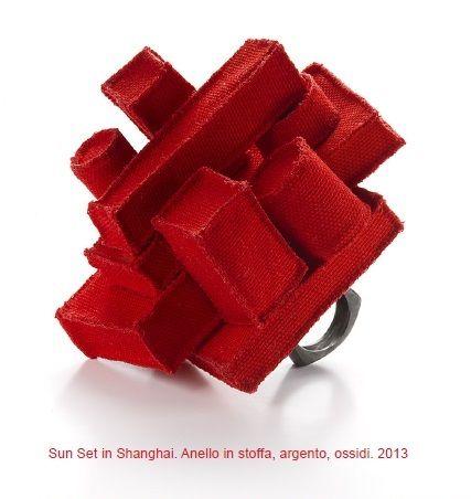 """CIRCUITS BIJOUX - Corrado de Meo ring - """"Filo Rosso X Paris"""""""