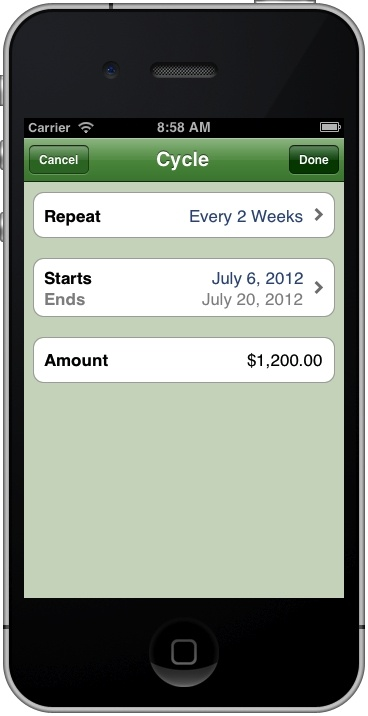 spend tracking app iphone