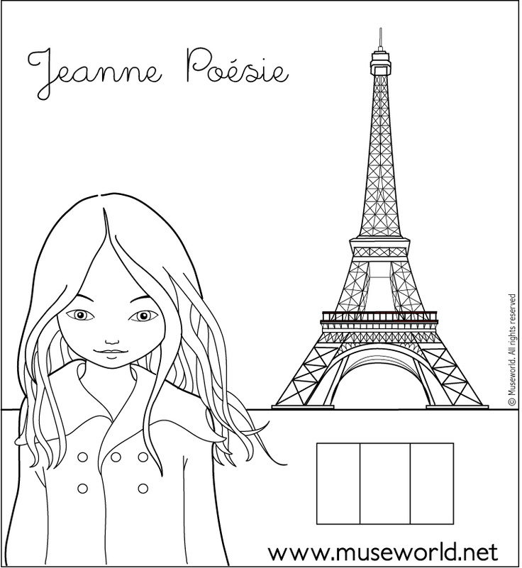 Gallery louvre coloring page free printable clvecompress