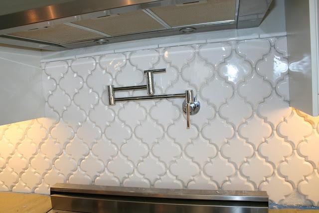 Beveled Arabesque tile : Spa decor : Pinterest