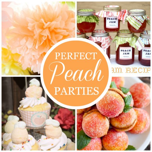 Ruffle Cakes, Camping Party Ideas, and Perfect Peach Parties!