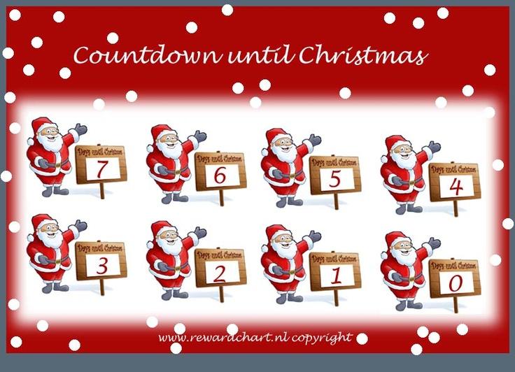 christmas countdown calendar | Countdown calendars | Pinterest