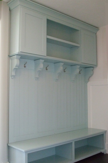 Mudroom bench and coat rack home pinterest Mudroom bench and coat rack