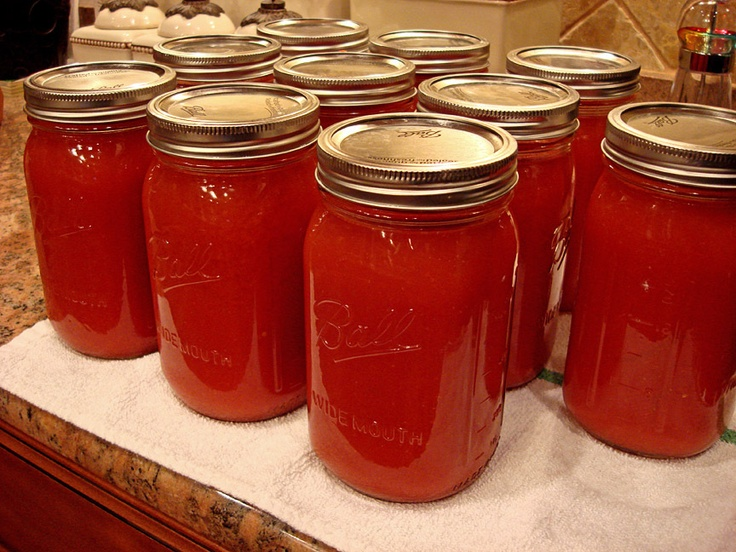 Homemade Tomato Juice Comments on this recipe have a roasted tomato ...